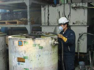 有価廃棄物のリサイクル原料化